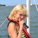 Išbandymas Vl. Musvydaitei vidury jūros – užsikėlimas į jachtos stiebo viršūnę