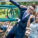 """Naujo TV žaidimo vedėjais tapsiantys E. Užaitė ir Timūras: """"Šeima – visada jėga"""""""