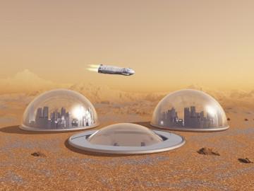 Futuras colonias humanas en Marte