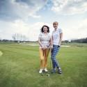 Golfą pirmąkart žaidusi Daiva Tamošiūnaitė: nekantrauju čia sugrįžti