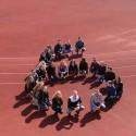 Lietuvos sporto universiteto studentai sukūrė gyvą mėgstamo kanalo ženklą