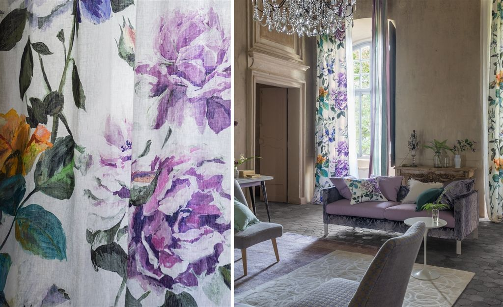 Designers Guild audiniu kolekcija Couture Rose_2
