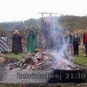 Lietuvos ragana Vilija Lobačiuvienė organizavo raganų sąskrydį