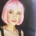 Naujas Akvilinos Ubartaitės įvaizdis – trumpi rožiniai plaukai