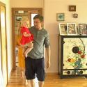 Marius Jampolskis dėkoja žmonai ir dukrai už išgelbėtą gyvenimą