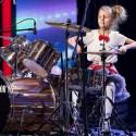 """Nuo ketverių metų būgnais grojanti Fausta sužibėjo """"Lietuvos talentuose"""" – teisėjai plojo atsistoję"""
