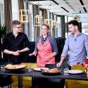 Kulinarinėje kovoje L. Kleiza atskleidė, kodėl žmona jam nebeneša pusryčių į lovą
