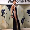 Į grožio konkursą Japonijoje Patricija Belousova vežėsi 80 suknelių!
