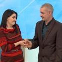 Emigracijos išskirta pora televizijoje išsiaiškino apie vienas kito neištikimybę