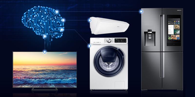 Autonomiškai judantys automobiliai ir šaldytuvas – mitybos specialistas_nuotr. Samsung1