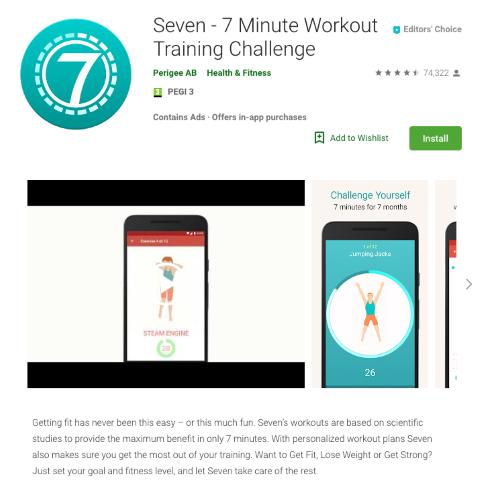 7 Minute Training Challenge programėlė (Small)