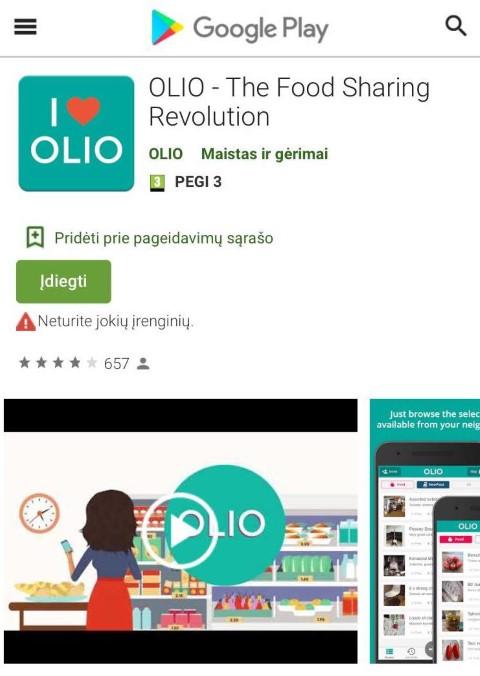 OLIO programėlė (Small)