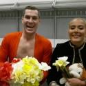 Karolinos Meschino ir Justino Jankevičiaus šou ant ledo sužavėjo Margaritą Drobiazko ir Povilą Vanagą