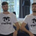 """Krepšininkas D. Lavrinovičius pasidalino įspūdžiais iš Holivudo kuriamo serialo apie  brolius filmavimo: """"Graudžiau negu graudu"""""""
