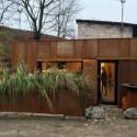 Architektūros konkurso laurai – garažui Vilniaus senamiestyje