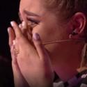 """""""Lietuvos balsas. Vaikai"""" projekte – per visą dalyvės pasirodymą stovėjusi arena ir Monikos Marijos nesuvaldytos ašaros"""
