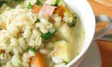 perliniu kruopu sriuba