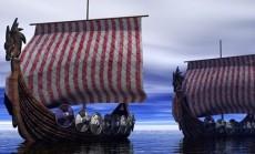 vikingu laivai