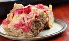 rabarbaru pyragas
