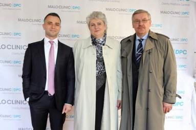 Simonas Bankauskas Klaipėdos krašto meras Vaclovas Dačkauskas su žmona Aldona Dačkauskas