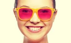 rožiniai akiniai