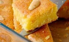 Basboussa tai tradicinis Rytu saliu pyragaitis