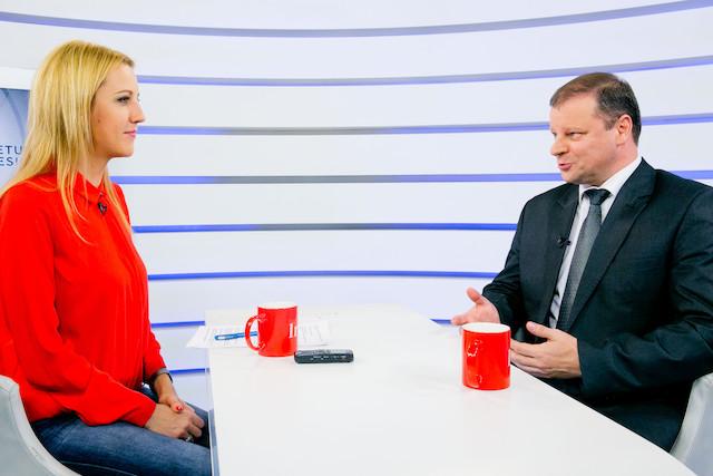 LR_TV_LT_S. Skvernelis ir D. Zeimyte