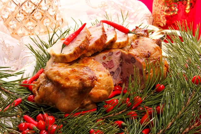 """Receptas_Įdarytas viščiukas su """"Chorizo"""" dešra ir raudonomis pupelėmis"""