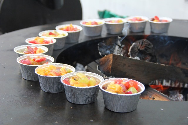 Vasaros grilio desertas-2