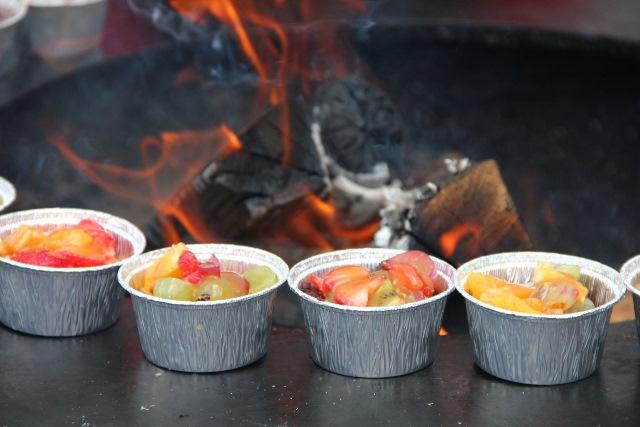 Vasaros grilio desertas
