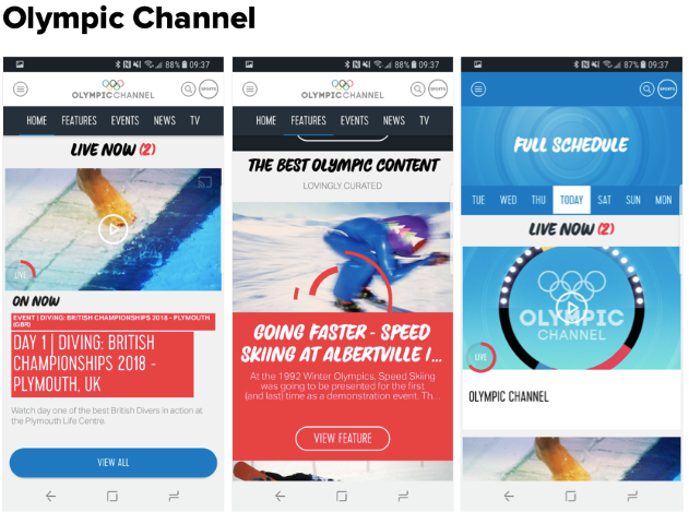 Olympic Channel programėlė  (Small)