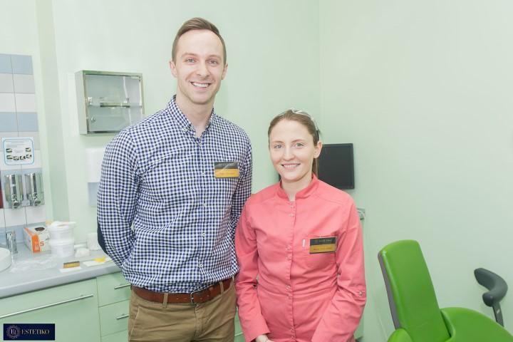 Gydytoja Marija Žitkevičiūtė ir pacientas Tadas Vilčinskas (Small)