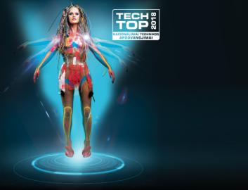 Tech Top mergina (Small)