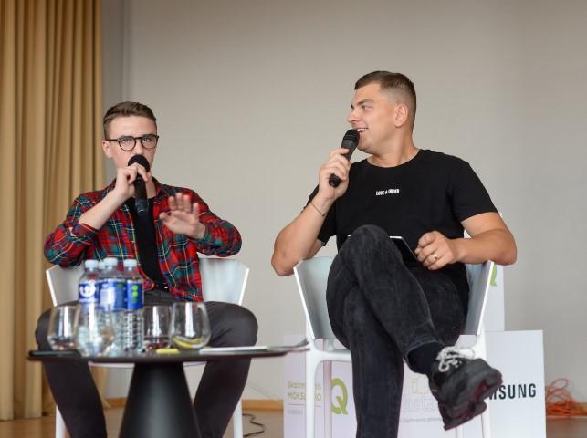 Edvinas Vitas ir Rolandas Mackevičius_nuotr. Greta Vaitkūnaitė