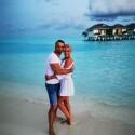"""""""Rimtų reikalų"""" aktorius Justinas Barkus su žmona medaus mėnesį praleido Maldyvuose"""