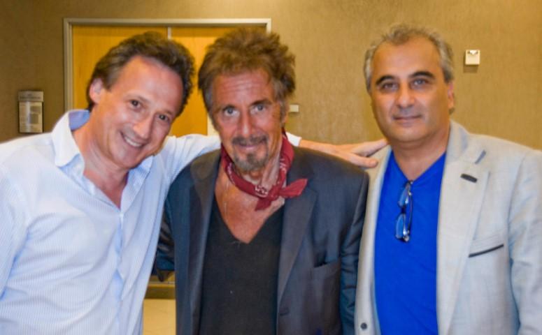 LR_TV_Gyvenimas_B. Hiller su Al Pacino
