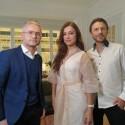 Ledo žvaigždės M. Drobiazko ir P. Vanagas iki ašarų prajuokino laidos vedėją E. Žičkų