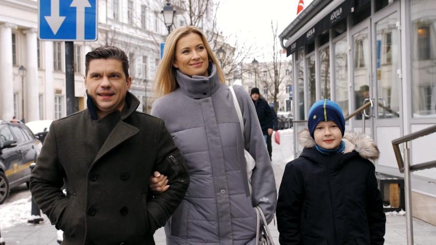 Renata Norvilė su šeima