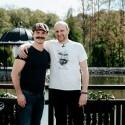 """A. Bružas apie karantino įkvėpto serialo filmavimus: """"Jame mes gyvenam kaip šeima"""""""