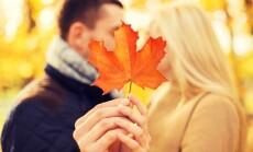 pasimatymai rudenį