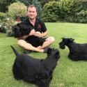 Aktoriaus Juliaus Žalakevičiaus namuose – penki šunys