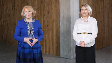 Irena Pivoriūnienė ir Laura Balčiūtė
