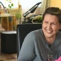 Kaip Laimai Tamulytei-Stončei auginti dukrą padeda gyvūnai