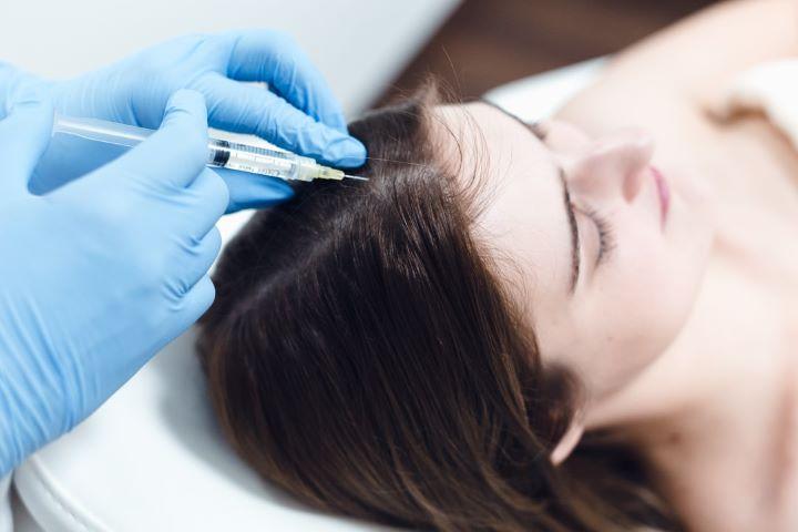 REVU Klinika injekcijos plaukams