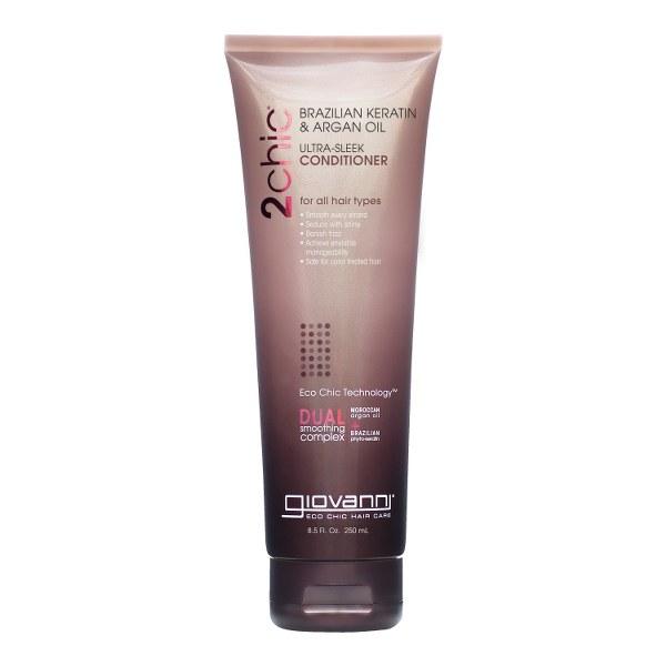 GIOVANNI 2CHIC ULTRA - SLEEK plaukų kondicionierius, 250 ml_600x600