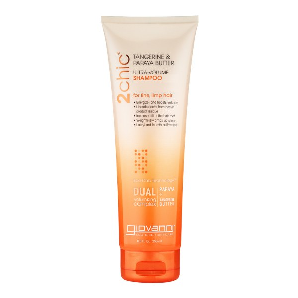 GIOVANNI 2CHIC ULTRA - VOLUME plaukų šampūnas, 250 ml_600x600