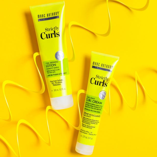 SC lotion and cream yellow background