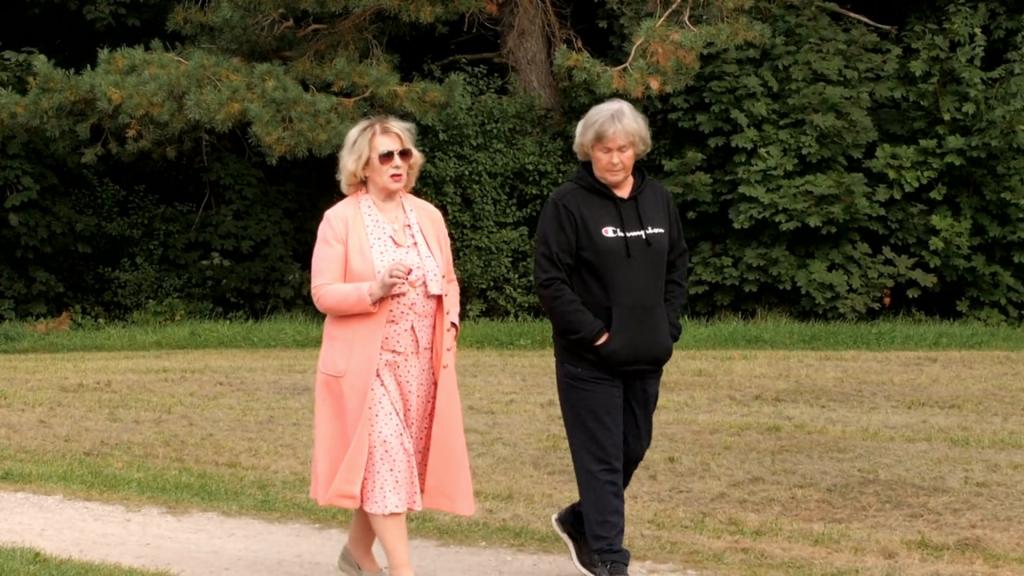 Irena Pivoriūnienė ir senjorė Nijolė